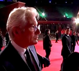 Richard Gere at the Rome Film Festival