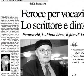 "Antonio Pennacchi, prize ""Strega"""