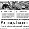Pontinia, the death road