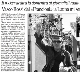 Interview with Vasco Rossi